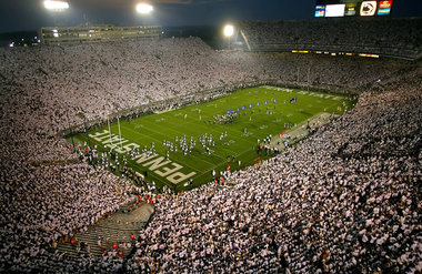 Wide Shot Beaver Stadium