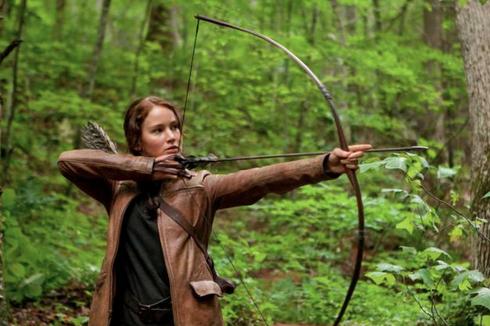 Medium Shot Hunger Games