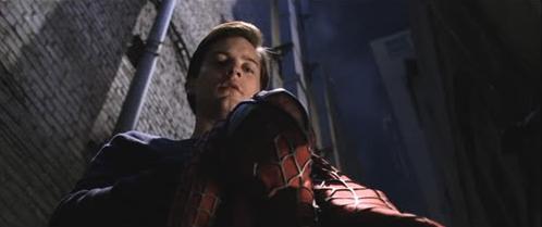 Low Angle Spiderman
