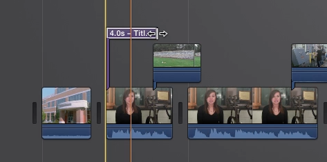 Adding and Customizing Titles in iMovie | Media Commons