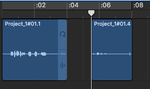 Splitting audio