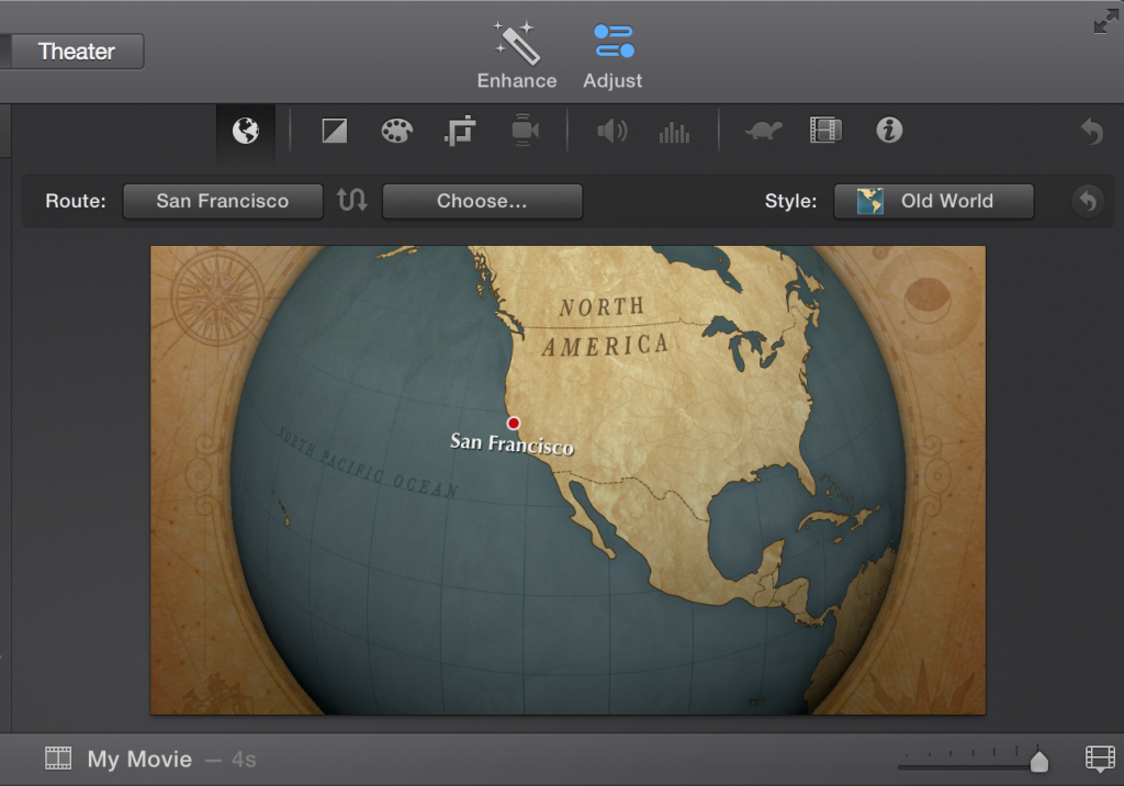 creating animated maps in imovie media commons