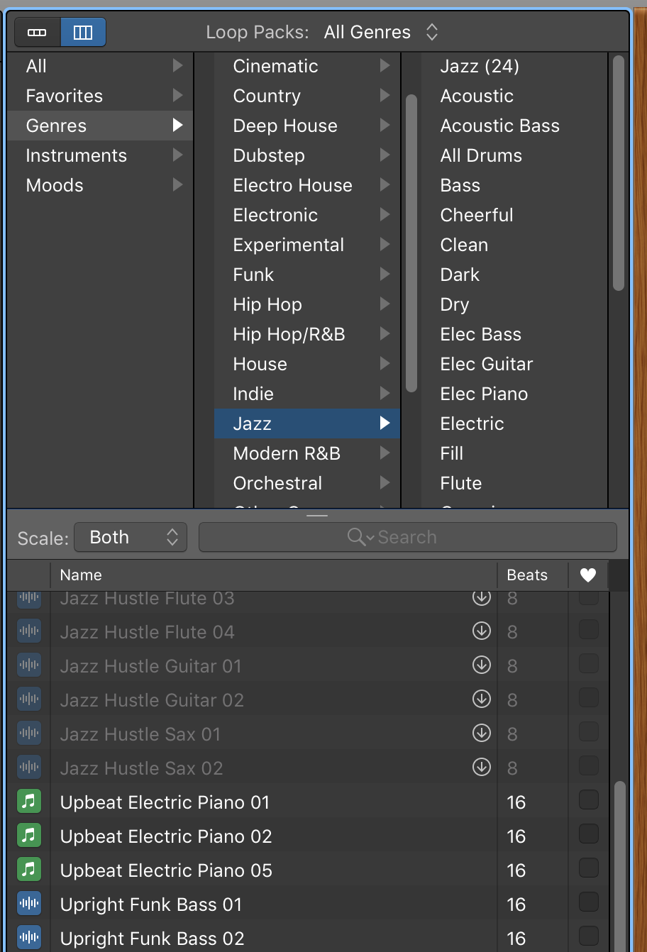 Fades, Volume Adjustment, Music, and Sound Effects in GarageBand