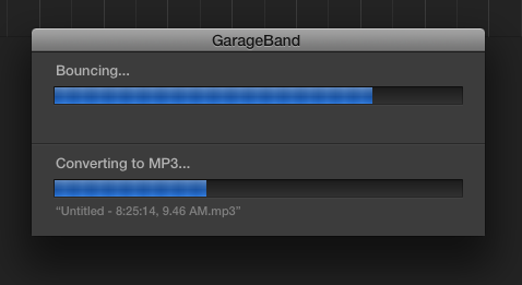 Exporting a Podcast as an MP3 in GarageBand | Media Commons
