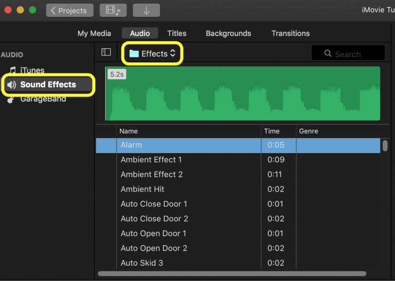 Adding Sound Effects, Music and Recording Voiceovers in