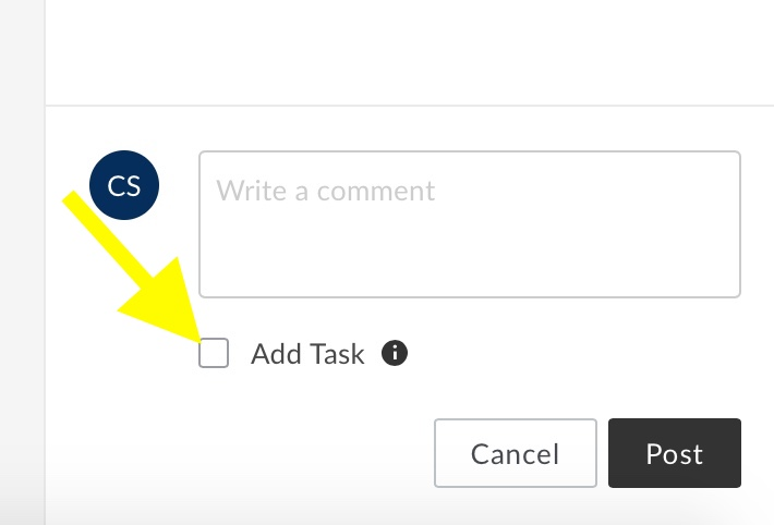 Tasks Check Box