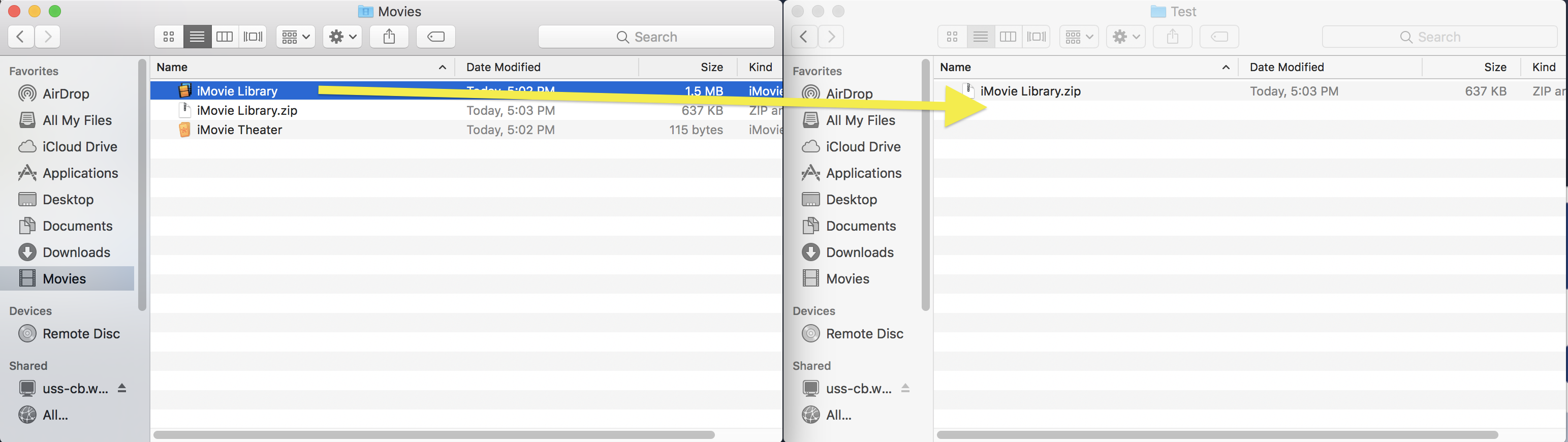 Backing Up Project to MC Storage from a Media Commons iMac | Media