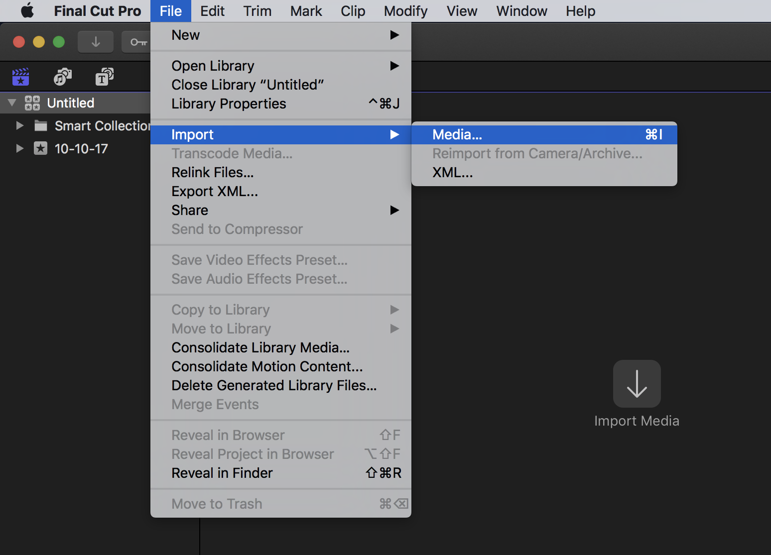 Importing Still Images for Stop Motion Animation With Final Cut Pro