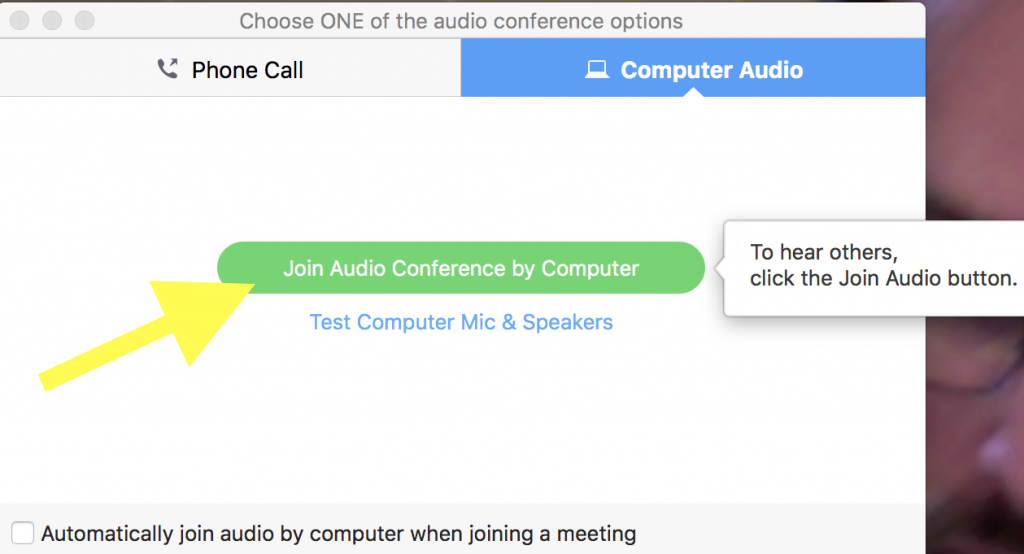 Recording a Zoom Audio Meeting | Media Commons