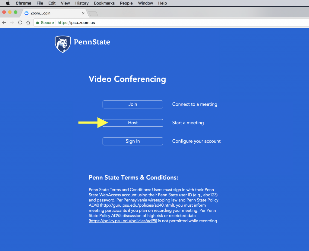Setting Up A Recurring Zoom Audio Interview Meeting Media