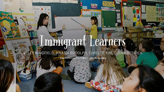 Immigrant Learners Example