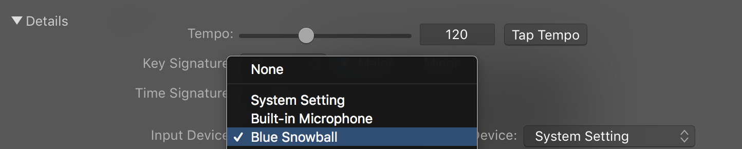Starting a New Podcast Project in GarageBand | Media Commons