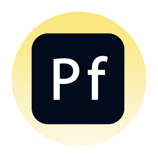 Adobe Portfolio Icon Image