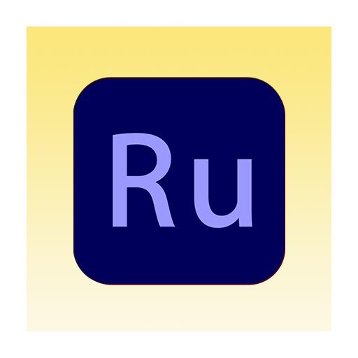 Adobe Premiere Rush Icon Image